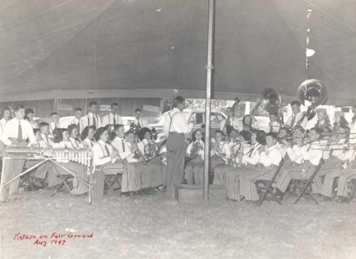 Kutztown Fair - 1947, band