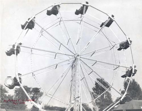 Kutztown Fair - 1947, ferris wheel