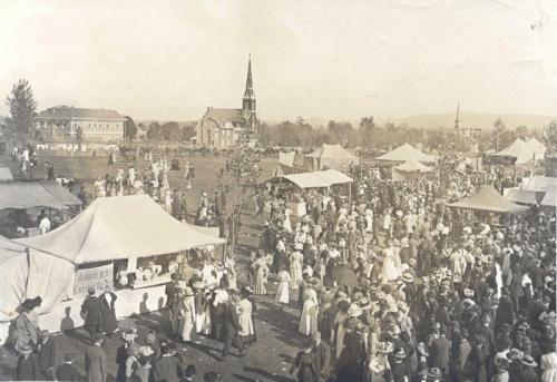 Kutztown Fair - ariel view