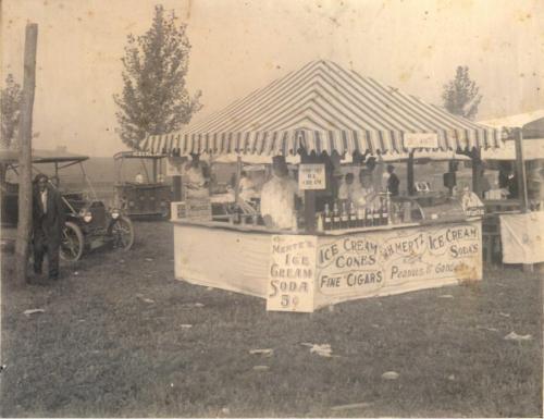Kutztown Fair - old style ice cream stand